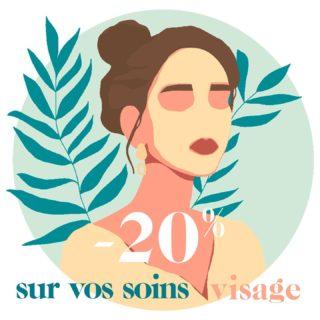 BEAUTY DAYS -20% sur vos soins visage 🌿la Clairière